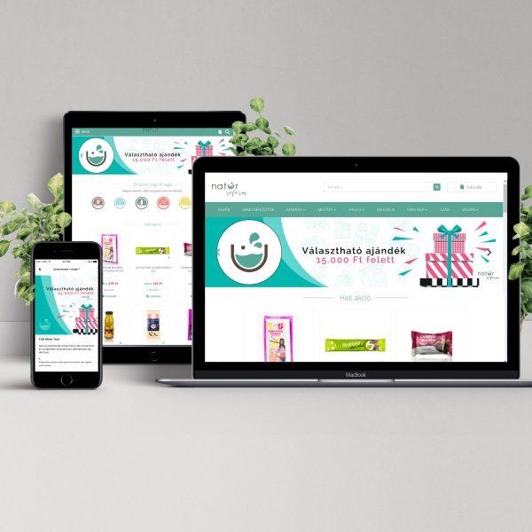 Webshop készítés - Cube Bunny - Budapest webáruház üzemeltetés marketing