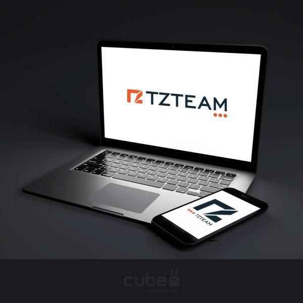 Logotervezés Arculattervezés CubeBunny TZteam
